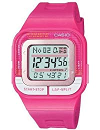 CASIO SDB1004AEF - Reloj de mujer de cuarzo, correa de resina color rosa