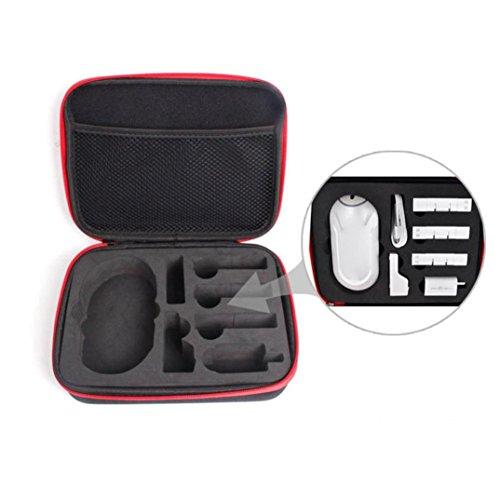 Dobby Pocket Drone Sac à dos Sac de rangement Sac de rangement Boîtier de transport Accessoires Kit de batterie Zerotech Dobby Drone Accessoires de contrôle à distance (Sac à main)