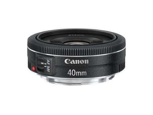 CANON-EF-40mm-f-28-STM-Obiettivo-ColoreNero