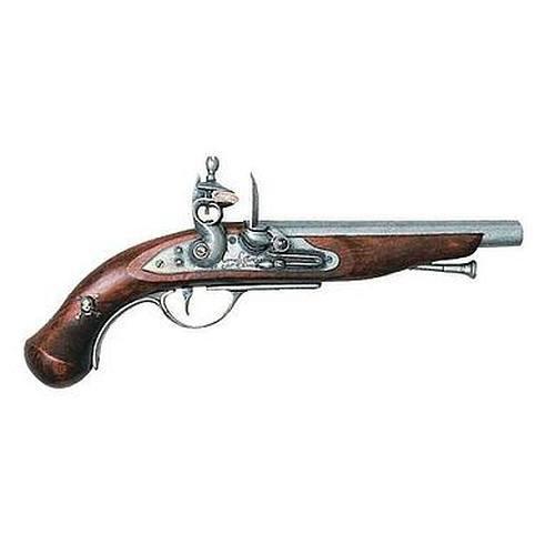 sche Piratenpistole Steinschloß grau 18Jhdt ()