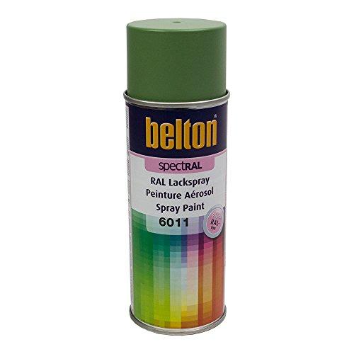 Auto-K-Herpe 324408 Bombe de peinture Belton RAL 6011 400 ml Mat Vert Réséda
