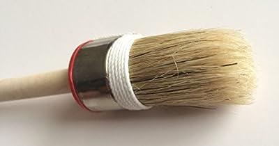 #HQ25 (25 mm/2,5 cm), klein, PLUS, Farbe und Kreide-top hochwertige Pinsel mit Naturborsten, 7 Größen, Shabby Chic, Kreide, & Möbel-Bürste von Chalk2Chic auf TapetenShop