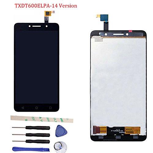 General di riparazione e sostituzione display lcd + touch screen digitizer vetro schermo assemblea per alcatel one touch pixi 4 ot8050 8050d 8050 txdt600elpa-14 version