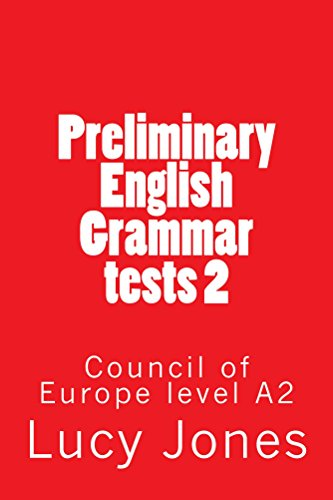 Preliminary English Grammar tests 2 (English Edition)