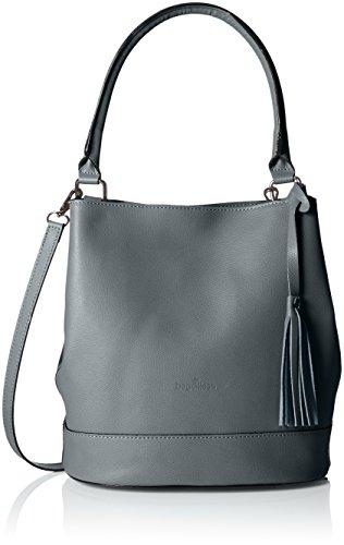 Bags4Less - Aliyah, Borse a spalla Donna Grigio (Dunkelgrau)