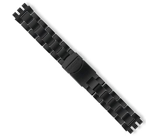 Swatch Ersatzband Black Coat 19mm (AYCB4019AG)