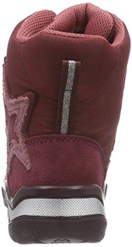 Ecco Ecco Snowride, Bottes premiers pas mixte bébé Rouge - Rot (MORILLO/PORT)