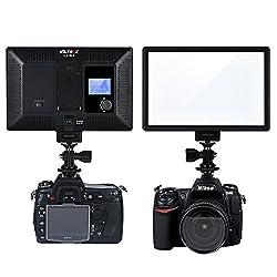VILTROX L116T RA CRI95 Super Slim LED Light Panel 3300K-5600K Bi-Color LED Video Light for DSLR Camera