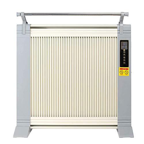 DWLINA Zu Hause Elektro-Heizung Heiz Büro Von Carbon-Kristall-Heizung/Doppelseitige Heizung/Weiß