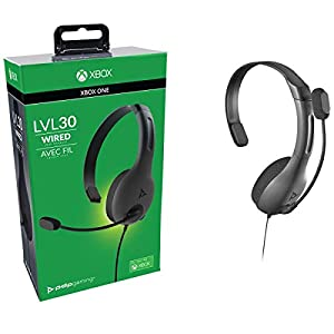 PDP LVL30-Chat-Headset für Xbox One in Schwarz