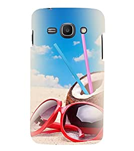 PrintVisa Designer Back Case Cover for Samsung Galaxy Ace 3 :: Samsung Galaxy Ace 3 S7272 Duos :: Samsung Galaxy Ace 3 3G S7270 :: Samsung Galaxy Ace 3 LTE S7275 (Beach Enjoyment Stuff)