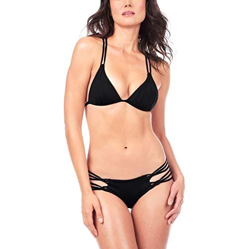 HuaMore Damen Push-Up Bikini BH Print Badeanzug Badeanzug Badebekleidung -