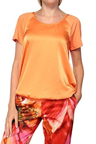 Basler Damen Shirt T-Shirt INDIA, Farbe: Orange Orange