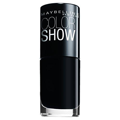 Maybelline ColorShow Nagellack, Nr. 677 blackout, bringt die Laufsteg-Trends aus New York auf die...