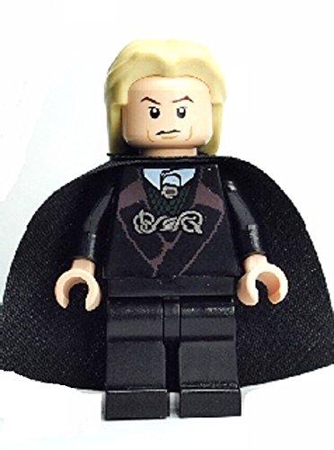 LEGO Harry Potter - Minifigur Lucius Malfoy mit zwei Gesichtern (aus dem Set 4736 entnommen) (Draco Malfoy Lego)