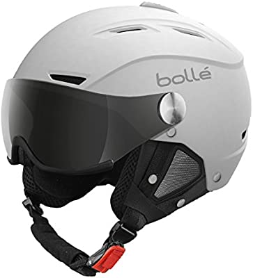 Bollé Helmet Backline Visor Soft with 1 + 1 Lemon - Casco de esquí