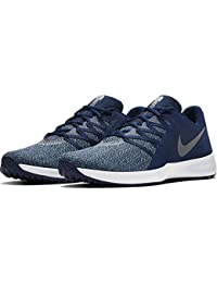 NIKE Men's Varsity Compete Trainer Royal Blue/Black Running Shoes (AA7064-402)