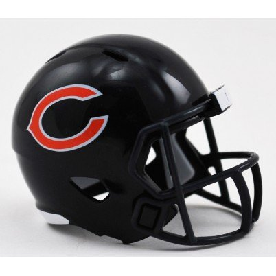 Riddell Chicago Bears Mini-Speed Pocket Pro Micro/Kamerahandys/Football Helm -