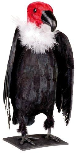 Halloween Tier Dekoration Geier 29x11cm (74364) (Halloween Tiere)