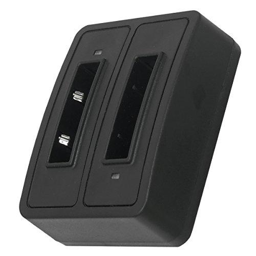 Dual-Ladeschale (Micro-USB) BA-90 für Sennheiser Audioport A1, E90, E180 (Set 180), HDE 1030 / HDI 91, 92... / RI 200, RI 300... - s. Liste