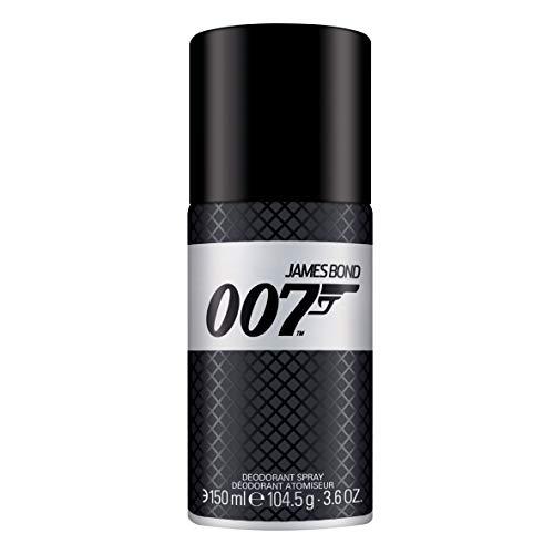 James Bond 007 Deodorant Spray - Unwiderstehlich-frisches Deo für Männer - perfekter Sommerduft gepaart mit britischer Eleganz - 1er Pack (1 x 150ml)