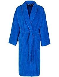 John Christian - Peignoir homme éponge bleu azur 100% coton