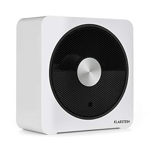 Klarstein HeatPal Bloxx Calefacción eléctrica • Estufa • 2500 W • Control vía App por módulo WiFi • Temporizador • Apagado • Control de Temperatura • Filtro • Blanco