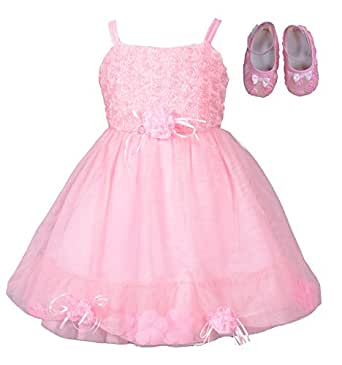 Cinda Baby Girls Christening Party Dress with Shoes