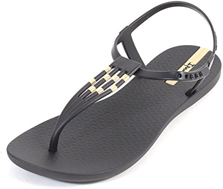 MuMa Sandalias y Chanclas Zapatos de Playa Seaside Summer Wear Sandalias out Thick Soles Slippers (Color : Black...