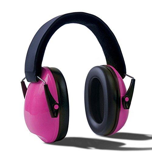 Inovey Vvcare Bc-0818 Verstellbare Gehörschutz Sicherheit Sound Ear Muff Gehörschützer Für Kinder Und Erwachsene - Rose (Baby Ear Muffs)