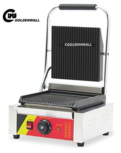 cgoldenwall np-589Panini Maker Sandwich Drücken wodurch Maschine Teller Grill Herd Toaster - 220V