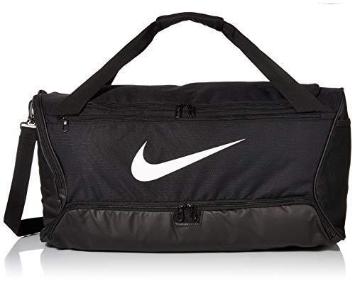 Nike Brasilia (Medium) Trainingstasche, Black/White, 64 x 30 x 30 cm