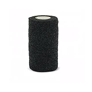 Andover Co-Flex Vet Flexible Wrap Bandages Lightweight and Breathable Black 4