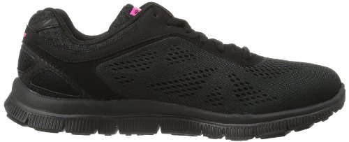 Skechers Flex Appeal Love Your Style Damen Sneakers Schwarz (BBK)