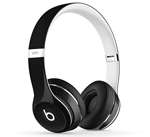 Beats by dr. dre solo2 cuffie on-ear luxe edition, nero