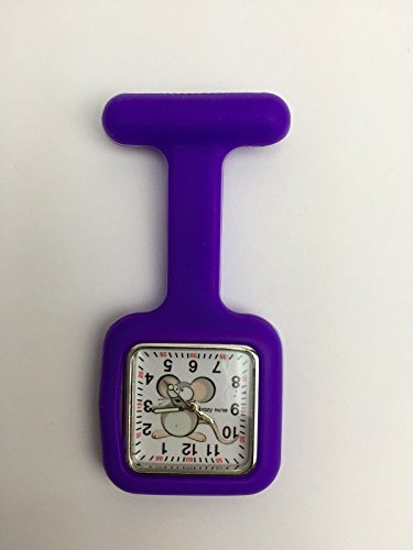 latest-square-design-dial-silicone-nurse-brooch-fob-medical-watch-with-free-extra-battery-by-lizzyr-