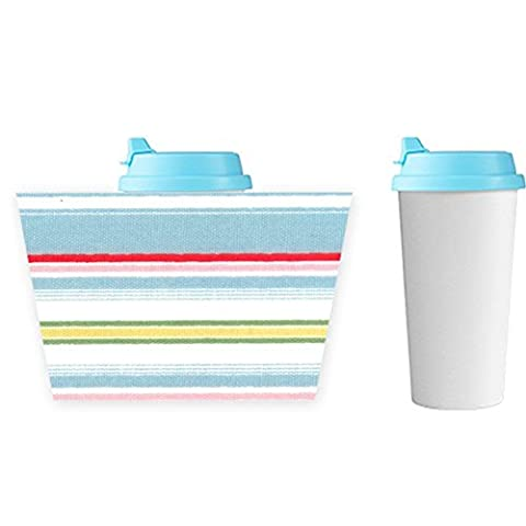 Plastic Kawaii Printing Chevron 2 Plastic Coffee Mug Boy