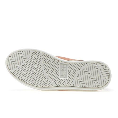 Diadora Sneakers Game Wide L per Donna C7404 - BIANCO-QUASI ALBICOCCA Barato De Calidad En Línea 2018 Nueva En Venta Bajo Precio Barato En Línea Amplia Gama De Envío Libre oCDx1Ua
