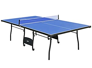 Full Size Indoor Table Tennis Table with Net,Ping Pong Table Review 2018 by Shiny Trading