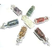 Schönes Set von sieben Flasche Form Anhänger Crystal Healing Fashion Wicca Jewelry Herren Frauen Geschenk Positive... preisvergleich bei billige-tabletten.eu