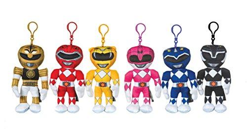 Power Rangers Bagclip Anhänger Schlüsselanhänger Farbauswahl 18cm (pink) (Power Rangers Weihnachten)