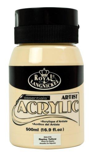 Royal & Langnickel RAA-5118 - Essentials 500 ml Acrylfarbe, neapelgelb