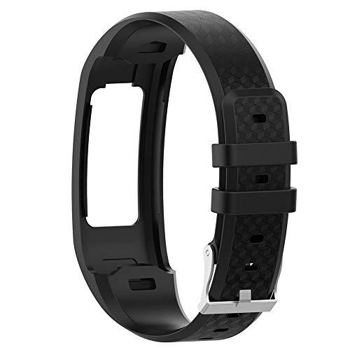 Everpert Multicolor Comfortable Large Silicone Wrist Strap Replacement for Garmin Vivofit 1/2