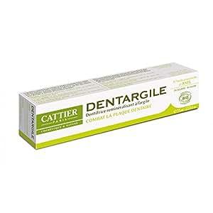 Cattier Dentargile reminéralisant à l'Anis anti tartre 100gr