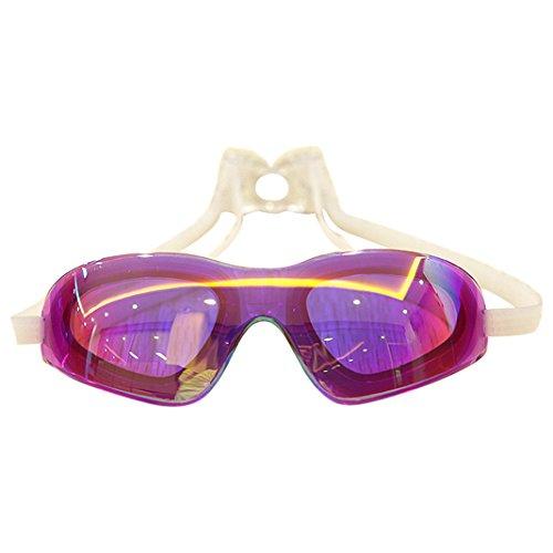 swim-gogglerosa-schleife-grand-la-natation-des-lunettes-de-protection-avec-anti-buee-et-protection-u