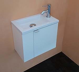 Arredo bagno mobile bagno da cm 43 con lavabo lavamani for Amazon arredo bagno