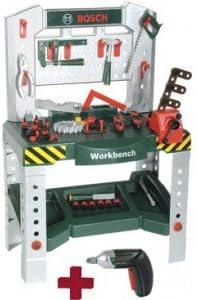 Bosch - Banco de trabajo con Ixolino (Theo Klein 8651)