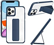 Compatible for iPhone 11 Pro Max Back Stand Case with Magnet Holder Hand Grip Magnetic Car Mount Anti Scratch