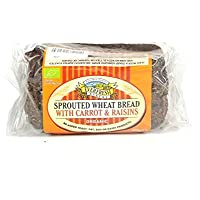 Everfresh Natural Foods Org Sprout Carrot Raisin Bread 400g [Misc.]