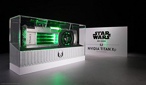 Nvidia TITAN Xp Star Wars Jedi Order - Cartes graphiques (GeForce GTX TITAN Xp, 12 Go, GDDR5X, 384 bit, 7680...